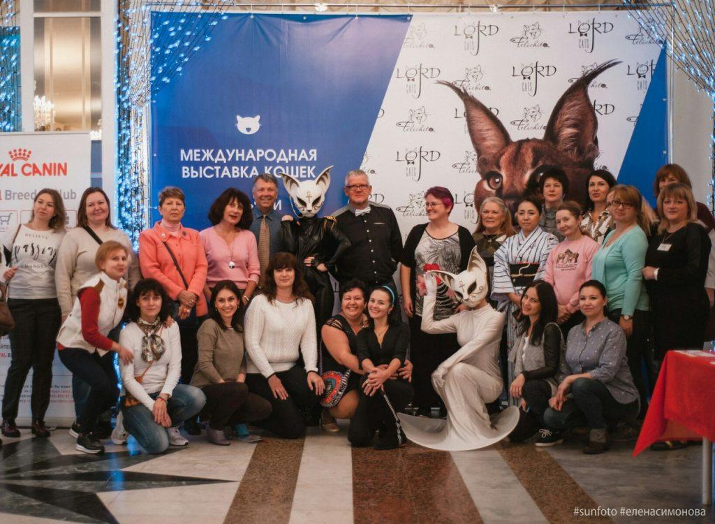 Выставка TICA 2017. Выставка WCF 2017